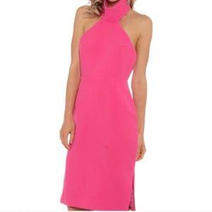NWT Finders Keepers Limitless Midi Dress Fuscia